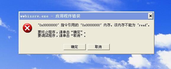 Windows内存不能为read的原因3