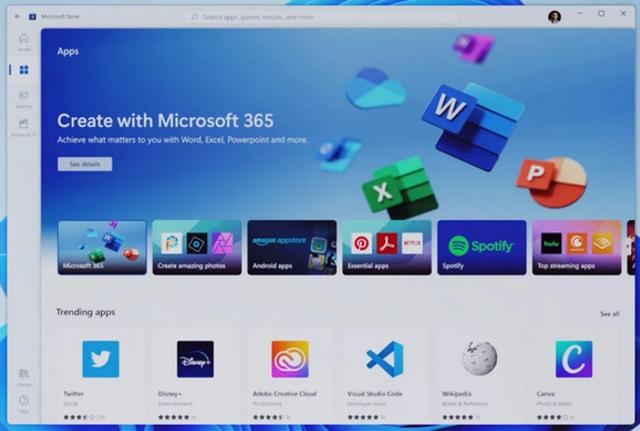 Win11新消息:应用商店可下载Win32应用,但暂不提供更新