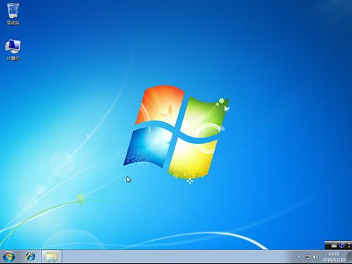 win7操作系统桌面