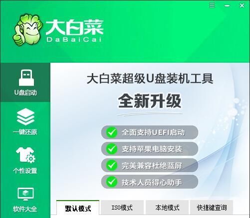 大白菜U盘启动盘制作工具V6.0_2009